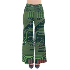 Board Computer Chip Data Processing Pants by Onesevenart