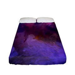 Ultra Violet Dream Girl Fitted Sheet (full/ Double Size)