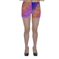 Crystalized Rainbow Skinny Shorts by 8fugoso