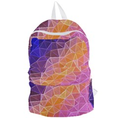 Crystalized Rainbow Foldable Lightweight Backpack by 8fugoso