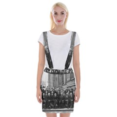 1927 Solvay Conference On Quantum Mechanics Braces Suspender Skirt