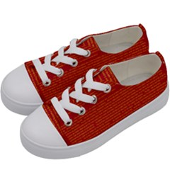 Mrtacpans Writing Grace Kids  Low Top Canvas Sneakers by MRTACPANS