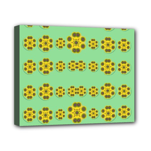 Sun Flowers For The Soul At Peace Canvas 10  X 8  by pepitasart
