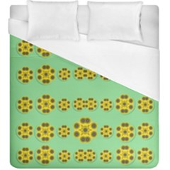 Sun Flowers For The Soul At Peace Duvet Cover (king Size) by pepitasart