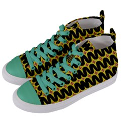 Neptune One Women s Mid Top Canvas Sneakers by MRTACPANS