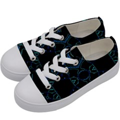 Bell Electric Kids  Low Top Canvas Sneakers