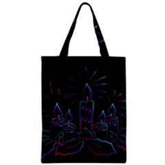 Advent Wreath Candles Advent Zipper Classic Tote Bag
