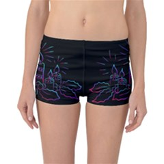 Advent Wreath Candles Advent Reversible Boyleg Bikini Bottoms