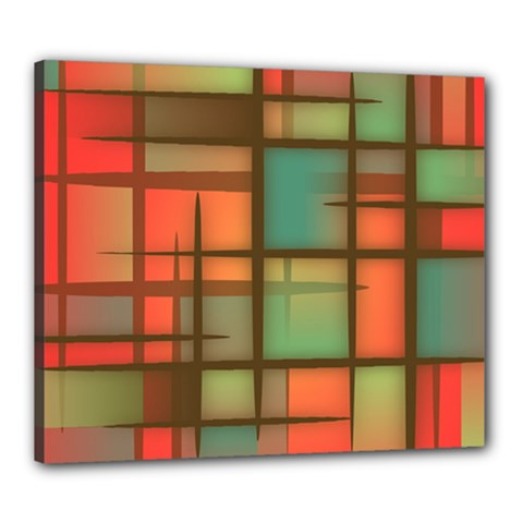 Background Abstract Colorful Canvas 24  X 20