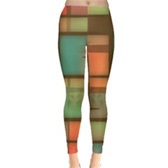 Background Abstract Colorful Leggings
