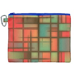 Background Abstract Colorful Canvas Cosmetic Bag (xxl) by Nexatart