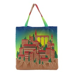 Mountain Village Mountain Village Grocery Tote Bag