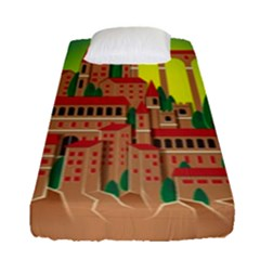 Mountain Village Mountain Village Fitted Sheet (single Size)