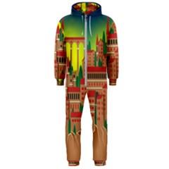 Mountain Village Mountain Village Hooded Jumpsuit (men)