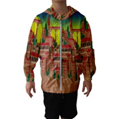 Mountain Village Mountain Village Hooded Wind Breaker (kids)