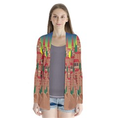 Mountain Village Mountain Village Drape Collar Cardigan
