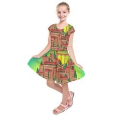 Mountain Village Mountain Village Kids  Short Sleeve Dress