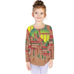 Mountain Village Mountain Village Kids  Long Sleeve Tee