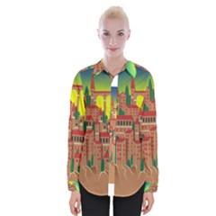 Mountain Village Mountain Village Womens Long Sleeve Shirt