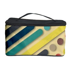 Background Vintage Desktop Color Cosmetic Storage Case