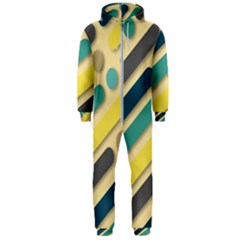 Background Vintage Desktop Color Hooded Jumpsuit (men)