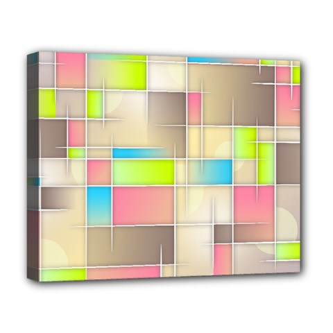 Background Abstract Grid Deluxe Canvas 20  X 16