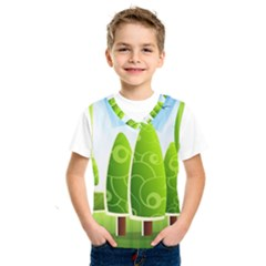 Landscape Nature Background Kids  Sportswear
