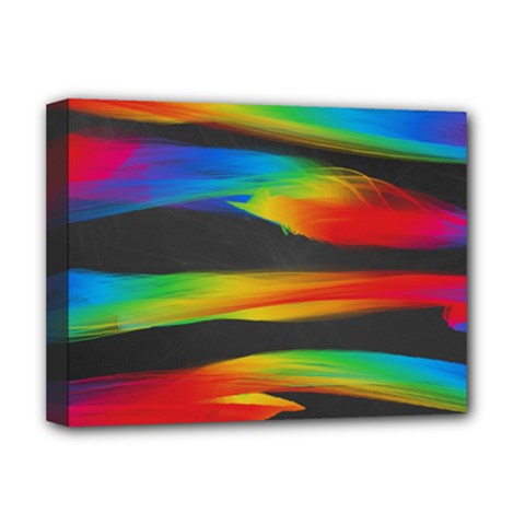 Colorful Background Deluxe Canvas 16  X 12