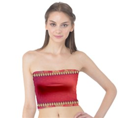 Background Red Abstract Tube Top