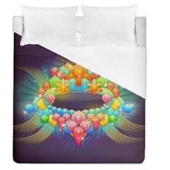 Badge Abstract Abstract Design Duvet Cover (queen Size)
