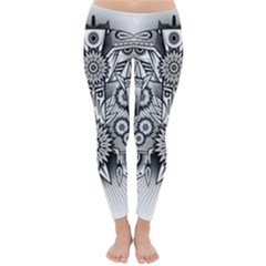 Forest Patrol Tribal Abstract Classic Winter Leggings
