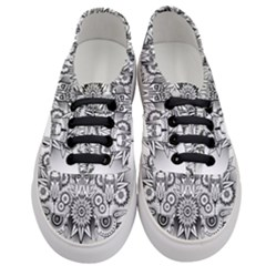 Forest Patrol Tribal Abstract Women s Classic Low Top Sneakers