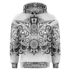 Forest Patrol Tribal Abstract Men s Overhead Hoodie