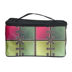 Seamless Pattern Seamless Design Cosmetic Storage Case by Nexatart