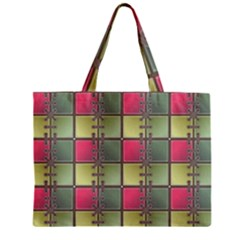 Seamless Pattern Seamless Design Zipper Mini Tote Bag