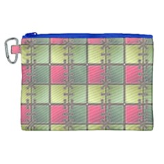 Seamless Pattern Seamless Design Canvas Cosmetic Bag (xl)