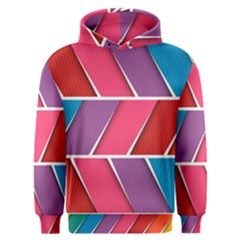 Abstract Background Colorful Men s Overhead Hoodie