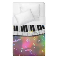 Piano Keys Music Colorful 3d Duvet Cover (single Size)