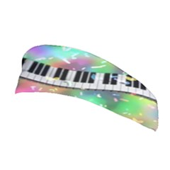 Piano Keys Music Colorful 3d Stretchable Headband