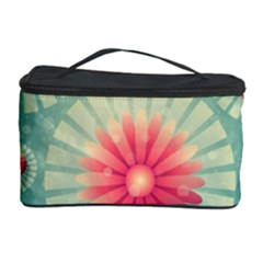 Background Floral Flower Texture Cosmetic Storage Case