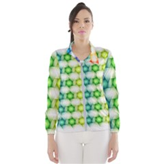 Background Colorful Geometric Wind Breaker (women)