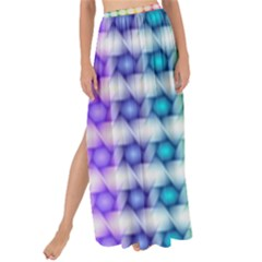 Background Colorful Geometric Maxi Chiffon Tie Up Sarong