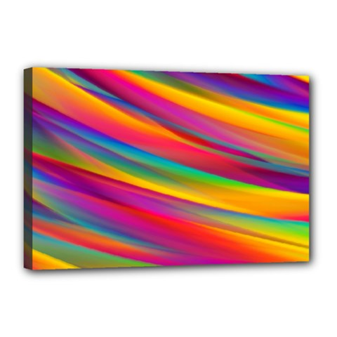 Colorful Background Canvas 18  X 12