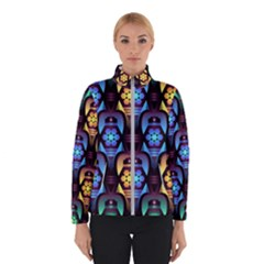 Pattern Background Bright Blue Winterwear