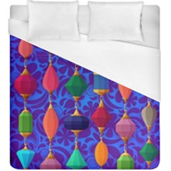 Colorful Background Stones Jewels Duvet Cover (king Size)