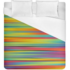 Colorful Background Duvet Cover (king Size) by Nexatart