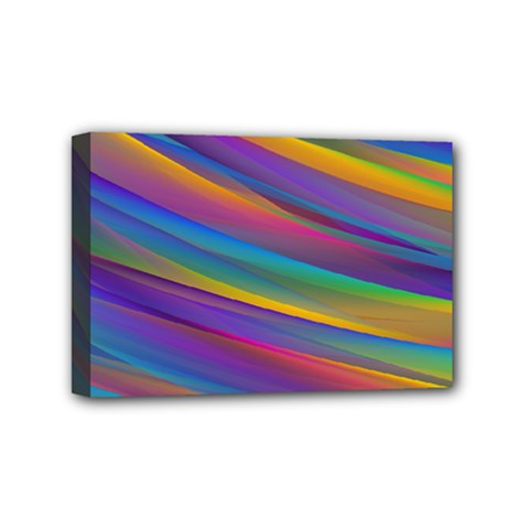 Colorful Background Mini Canvas 6  X 4  by Nexatart