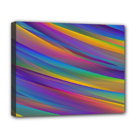 Colorful Background Deluxe Canvas 20  X 16