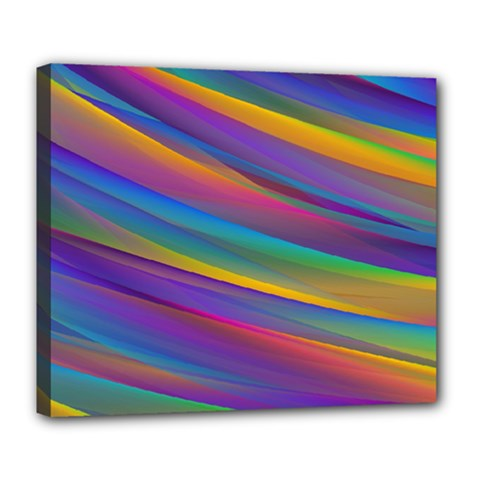 Colorful Background Deluxe Canvas 24  X 20