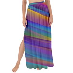 Colorful Background Maxi Chiffon Tie Up Sarong